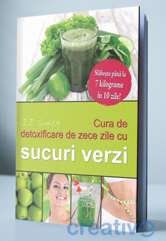 Cura de detoxificare de zece zile cu sucuri verzi - Slăbește până la 7 kilograme în 10 zile!