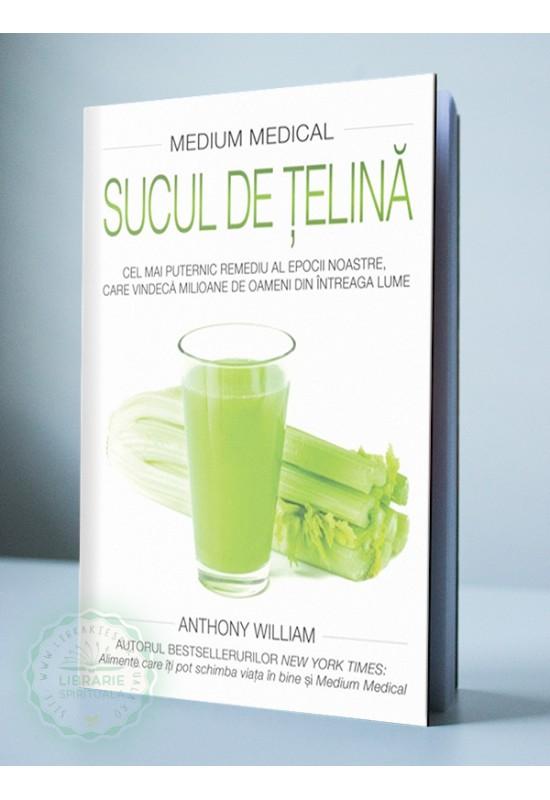 """Sucul de țelină - Cartea a V-a din seria """"Medium Medical"""""""