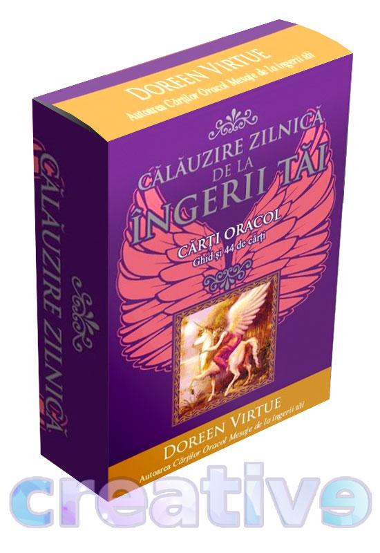 Călăuzire zilnică de la îngerii tăi. Cărți oracol
