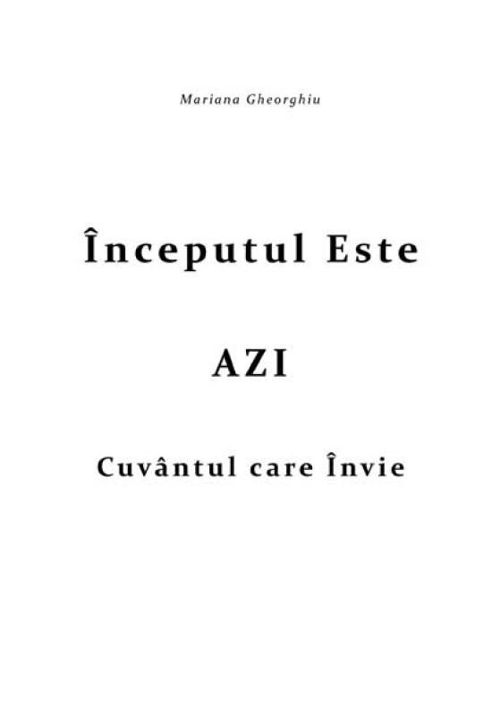 Reducere de pret Începutul este AZI - Cuvântul care Învie