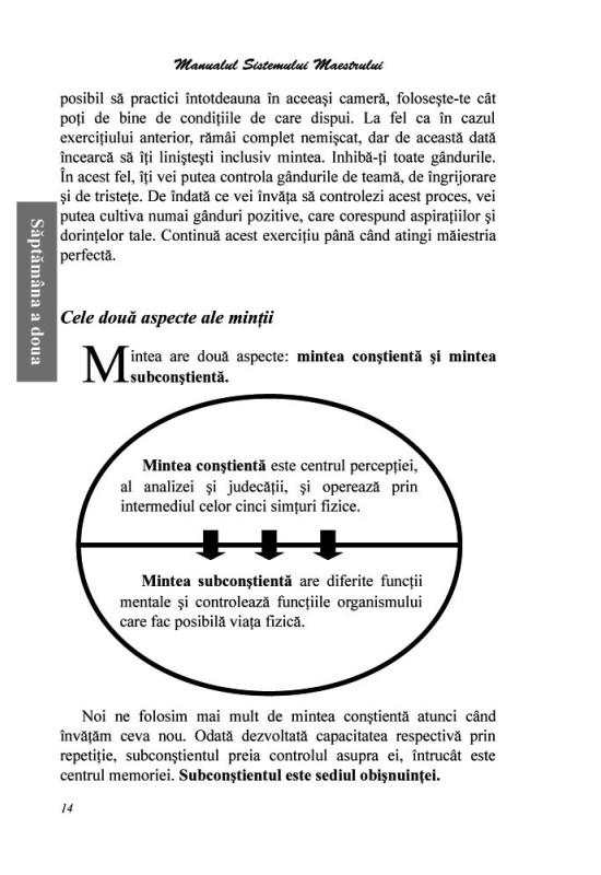 Reducere de pret Manual de punere în practică a principiilor din Sistemul Maestrului