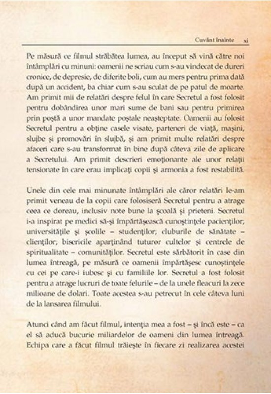 Dezvoltare Personală - Secretul (cartea) - Rhonda Byrne (The Secret)