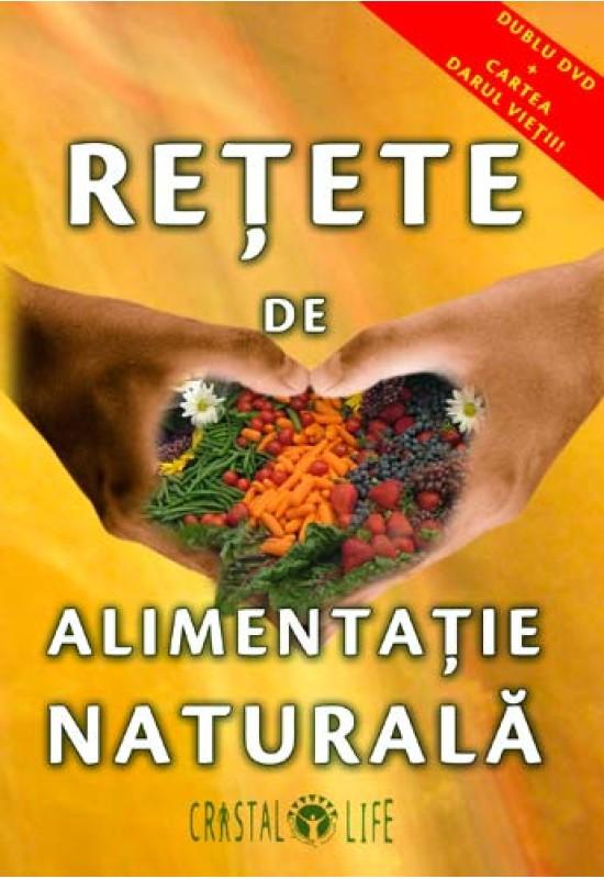 Rețete de Alimentație Naturală - Dublu DVD + Carte