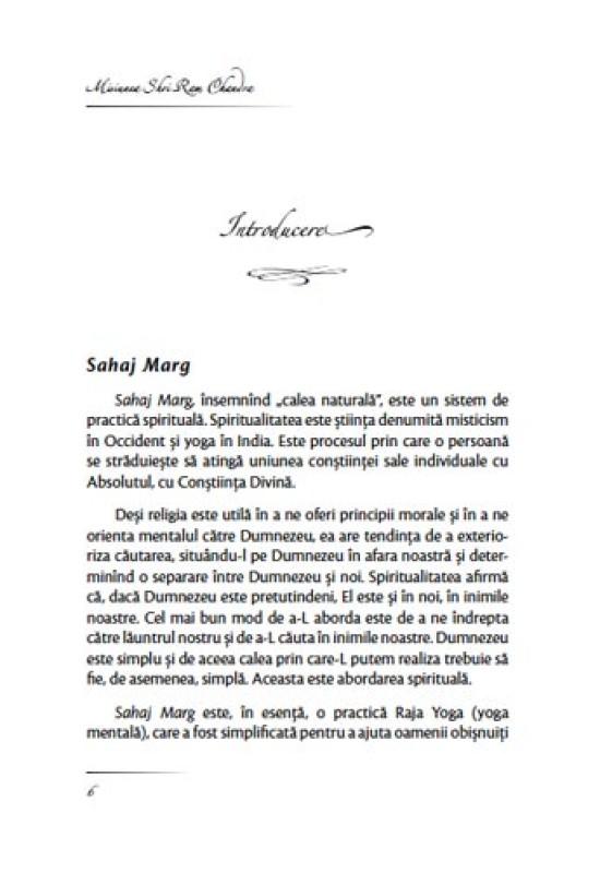 Reducere de pret Bun venit în sistemul Sahaj Marg