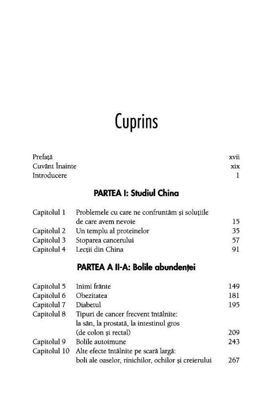 Reducere de pret Studiul China - dr. T. Colin Campbell și Thomas M. Campbell II