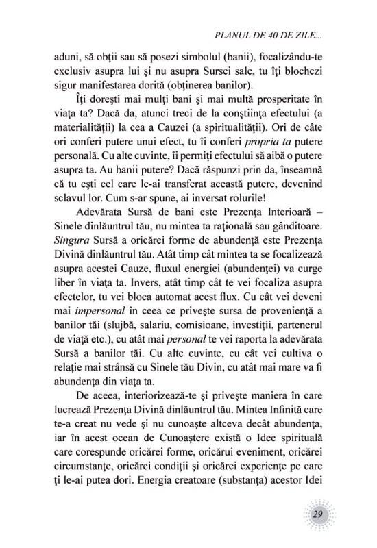 Reducere de pret Cartea abundenței - John Randolph Price
