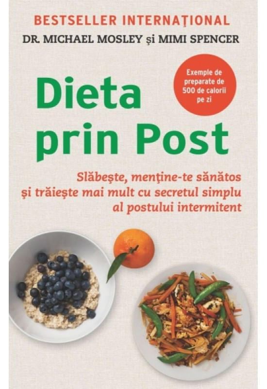 Reducere de pret Dieta prin post - dr. Michael Mosley