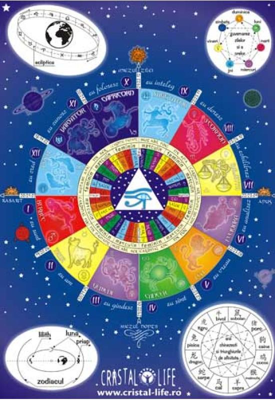 Afiș Astrologie - Tema fundamentală