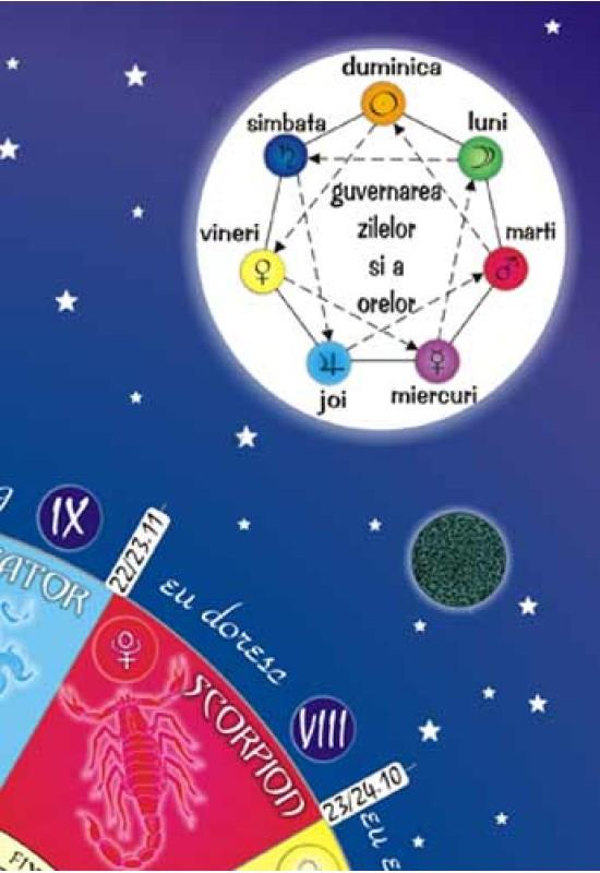 Reducere de pret Afiș Astrologie - Tema fundamentală